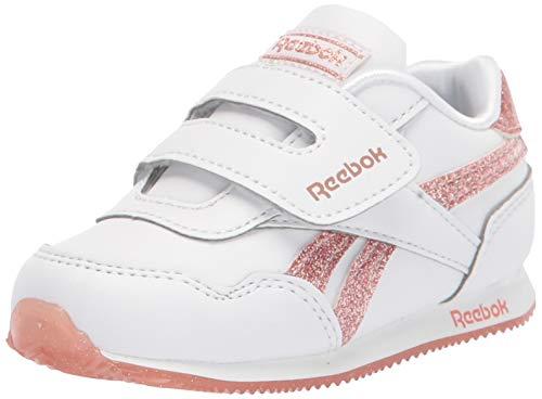 Reebok Baby-Girl's Nano X Cross Trainer, Black/White/Polished Pink, 4 M US Infant