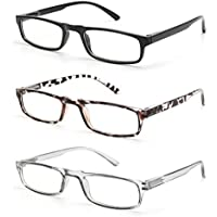 Gaoye 3-Pack Reading Glasses Blue Light Blocking Women Men