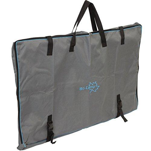 Siehe Beschreibung Tragetasche für einen Campingtisch, 120 x 75 x 8 cm, anthrazit: Aufbewahrungstasche für Tisch Schutzhülle Campingtisch Tasche
