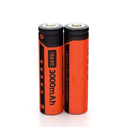NHFGJ 2/4 Uds Li-Ion 18650 BateríAs Recargables 3,7 V 3000 Mah BateríA De Litio para 3,7 V BateríA De Linterna De Banco De EnergíA 2pcs