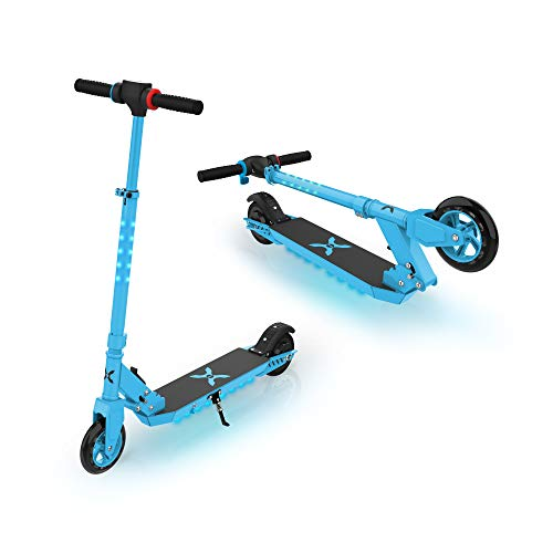 Hover-1 Flare Folding Electric Scooter for Kids with LED Stem & Deck Lights.