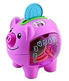 Fisher-Price Smart Stages Hucha de Cerdito, Juguete Educativo electrónico para bebé, con Canciones, Frases y Luces, para enseñar números, Colores, 6 Meses más