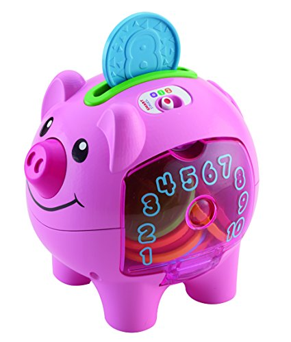 Fisher-Price Laugh & Learn Count & Learn Piggy Bank (Engelstalig)