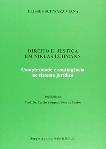 Direito e Justiça em Niklas Luhmann