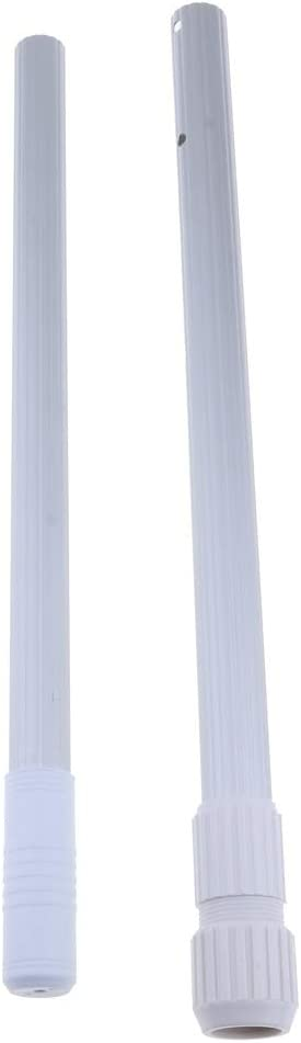 HSJWOSA Professionally Swimming Mail order Pool Pole 2pcs Sales results No. 1 Telescopic Stage