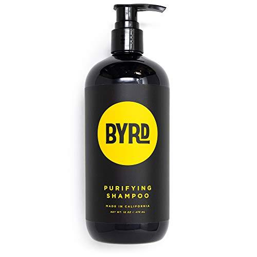 BYRD Purifying Shampoo - Red Algae, Green Tea, Aloe Vera,...