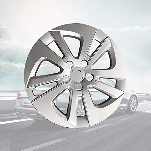 SEHNL 15 Pulgadas de Ajuste de la Rueda de la Rueda del Coche aleación de Aluminio llanta Auto hubcap Resistente a la corrosión Espesado para Prius 2016