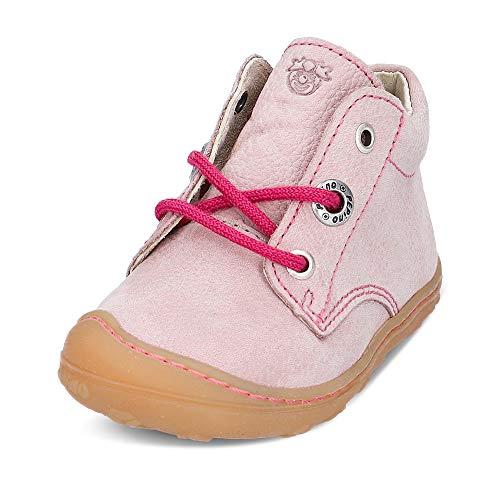 RICOSTA Mädchen Lauflern Schuhe Cory von Pepino, Weite: Mittel (WMS),terracare, schnürschuh schnürstiefelchen flexibel Kids,Viola,19 EU / 3 Child UK