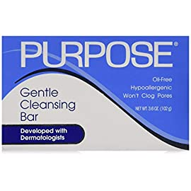 Purpose Gentle Cleansing Bar - 3.6 Oz/Pack, 4 Pack 9 Removes dirt and oil without over drying. Use for a healthy complexion. Dermatologist Recommended.