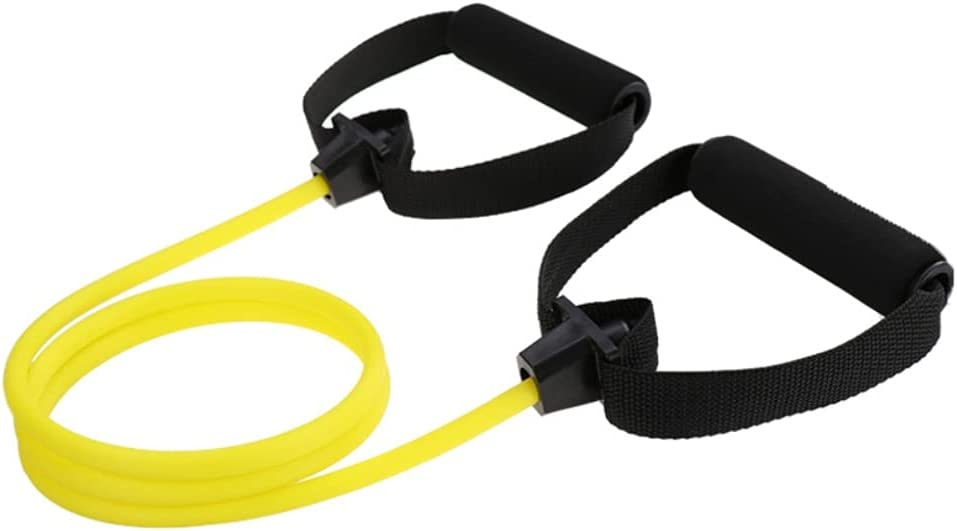 ZYU STEPS Resistance Bands Exercise Pad Foam with Albuquerque Mall Cords Austin Mall Handles