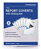 Phetronix Clear Report Covers with Sliding Bar...