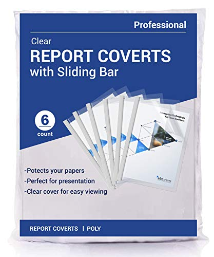 Phetronix Clear Report Covers with Sliding Bar