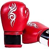 KUANDARMX Kinder Boxhandschuhe Set Junior Boxhandschuhe | Kinderhandschuhe | MMA Handschuhe Muay Thai Taekwondo Sanda Kampf, A