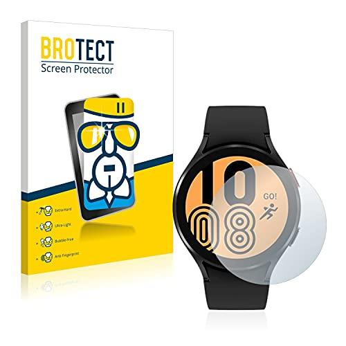brotect Pellicola Protettiva Vetro Compatibile con Samsung Galaxy Watch 4 (44mm) Schermo Protezione, Estrema Durezza 9H, Anti-Impronte, AirGlass