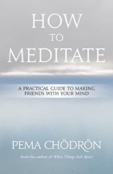 Meditation: How to Meditate: A Practical Guide to Making Friends with Your Mind by [Pema Chödrön]