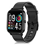 Smart Watch, Fitness Tracker with 1.4inch Full Touch Screen, Smartwatch for Men Women Sleep Monitor Activity Tracker Stopwatch, IP67 Waterproof Fitness Watch for iOS, Android