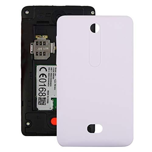 Nokia Spare Copertura Posteriore della Batteria for Nokia Asha 501 Nokia Spare (Colore : Bianca)