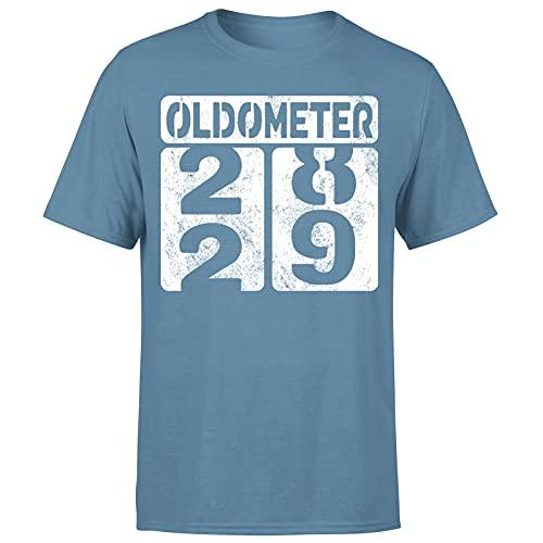 Milestone Birthday Oldometer odómetro torneando 29 años regalo para hombre camiseta regalo para él