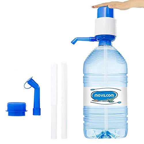 MovilCom® - Wasserspender für Kanister | Wasserspender kompatibel mit Flaschen (PET) mit 2,5, 3, 5, 6, 8 und 10 Liter | für Flaschen mit einem Durchmesser von 38 mm und 48 mm