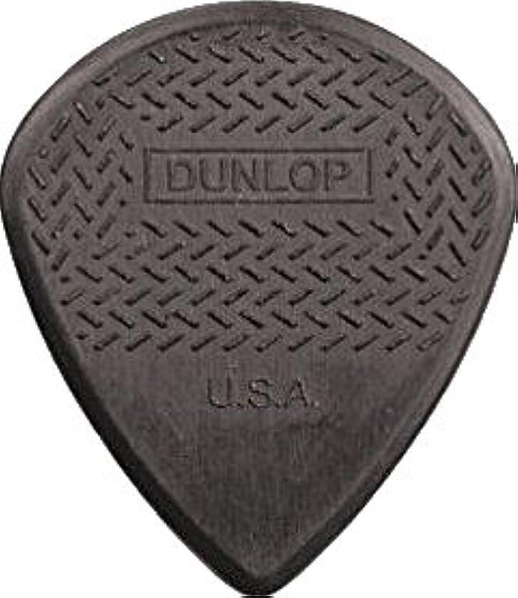 相談魅惑する区別するJim Dunlop Jazz III Nyon Max Grip Pick 12枚セット ジャズ 3 ( スリー ) マックス グリップ ピック カーボン ファイバー グレー 灰 & Musent Custom Players Pick 付き   471B3N-GRY-12P