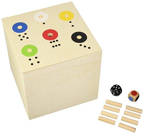 BUSDUGA KULTSPIEL - Rot gewinnt / 6 gewinnt / AB IN DIE Box - in der XXL Big - Version 20x20x20cm