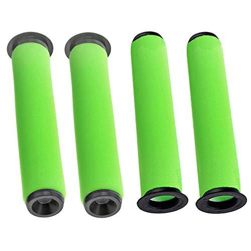 spares2go waschbar Schmutz Bin Stick Filter für Gtech AirRAM MK2K9schnurlose Staubsauger (4Stück)