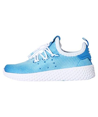 adidas Chaussure Pharrell Williams Tennis Hu Zapatillas Niño Azul, 20