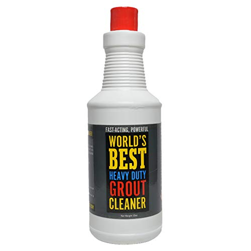IT REALLY WORKS - POWERFUL AND EASY TO USE! - World's Best Professional Grade Heavy Duty Grout Cleaner - Super Heavy-Duty - Easy and Safe To Use on Ceramic and Porcelain Tile - Destroys Dirt and Grime With Ease - Grout Comes Extraordinarily Clean - Safe For Colored Grout - NOT FOR USE ON NATURAL STONE