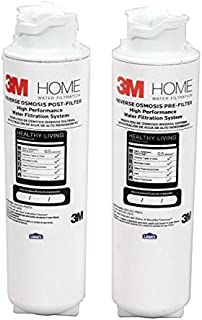 3M 4US-RO-F02H Quick Change RO Under Sink Pre/Post Filters (Fits System 4US-RO-S01H)