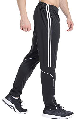 FITTOO Pantalones Deportivos para Hombre Mallas de Fitness E