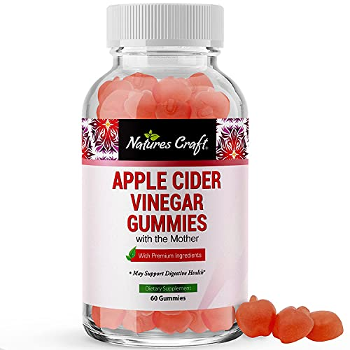 ACV Apple Cider Vinegar Gummies - Natural Energy Supplement ACV Gummies with Mother for Body Cleanse Immune Support and Gut Health - Apple Cider Vinegar with the Mother Vitamin B12 and Beet Root