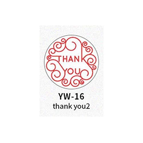 Brief zegel stempel woorden stempels met houten handvat voor DIY Scrapbooking bruiloft envelop kaart maken Tools Gift Decor, zegel stempel