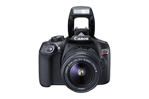 Canon EOS Rebel T6 Digital SLR Camera Kit with EF-S 18-55mm f/3.5-5.6 DC III Lens...