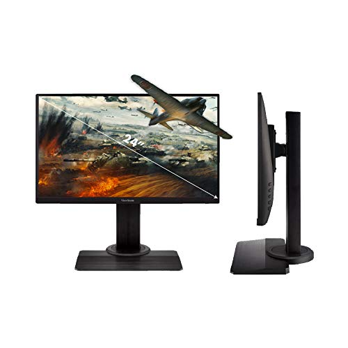 ViewSonic XG2405 24 Inch 1080p 1ms 144Hz Frameless IPS Gaming Monitor with FreeSync Premium Eye Care...