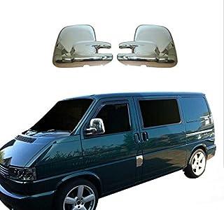 VW T4 Transporter 1990-2003 Puerta Espejo Negro Eléctrico Par Izquierda /& Derecho