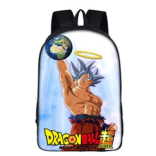 DBZ Dragon Ball Mochila Escolar Mochila De Estudiante poliéster cómodo