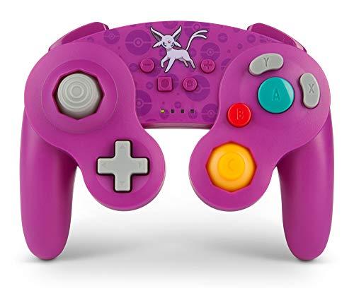 Pokémon Mando inalámbrico para Nintendo Switch - Estilo GameCube: Espeon