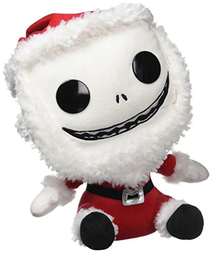 - peluche - 599386031 Pesadilla Antes de Navidad Jack Santa (30 cm)