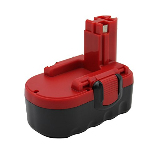 Kinon Replacement Power Tool Battery 18V 1.5Ah for Bosch Cordless Drill Screwdriver 2 607 335 266 2 607 335 278 2 607 335 535 2 607 335 536 2 607 335 680 2 607 335 688 2 607 335 696 GKS 18V GSR 18V