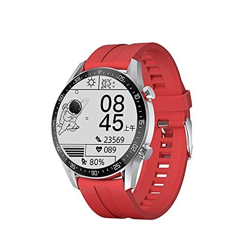 YXJ Smart Watch SK7 Men's Bluetooth Tarifa Cardíaca Fitness Pulsera Deportiva para iOS Android,B