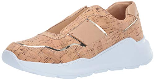 Donald J Pliner Women's Karli-CO Sneaker, Natural, 8 B US