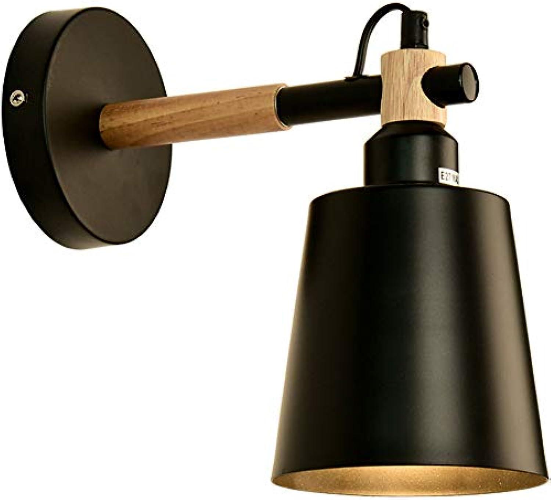 GaLon Wandleuchte Moderne Einfache Wandleuchte Eisen Kunst Restaurant Bar Lampe Korridor Licht Wohnzimmer Dekorative Wandleuchte Ganglicht Nachtlicht Studie Lampe (Farbe   A)