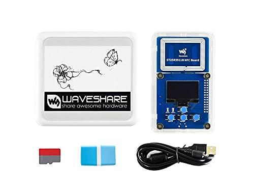 HEQIE-YONGP Pantalla de Tinta e- Kit de evaluación de Papel electrónico de 4.2Inch NFC, alimentación inalámbrica y Transferencia de Datos para Bricolaje