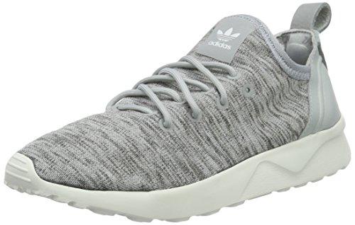 adidas Damen ZX Flux ADV Virtue Sock Laufschuhe, Grau (Clear Onix/Clear Onix/Core White), 36 2/3 EU