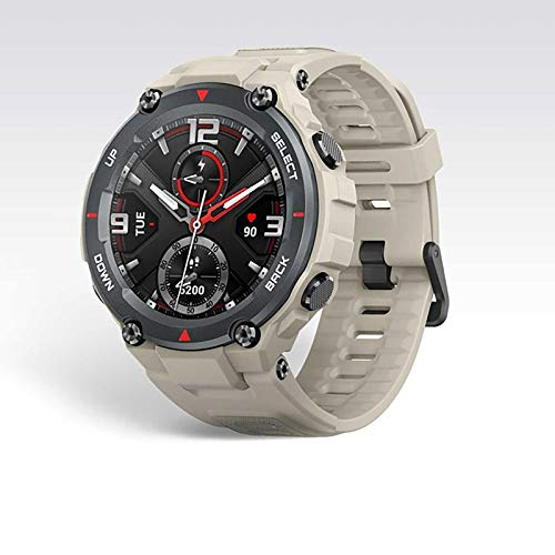 ZGZYL Reloj De Ejercicios Aeróbicos Monitor De Frecuencia Cardíaca 5Atm Impermeable, Calor Y Resistente Al Frío Reloj Inteligente GPS/GLONASS Pantalla AMOLED (para iOS Android