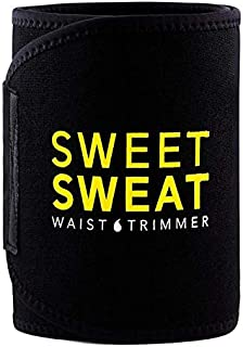 Sweet Sweat Sports Research Premium Waist Trimmer for Men & Women Includes Free Breathable Carrying Case for Body Shaperin...