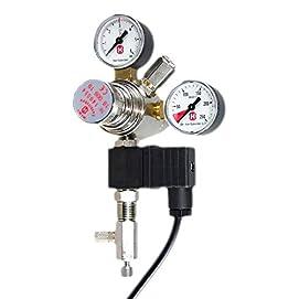 Hiwi Druckminderer CO2 Profi Variante Mehrweg mit Magnetventil und Rückschlagventil