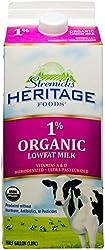 Stremicks Heritage Organic Milk Low Fat - Chilled