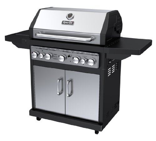 Dyna-Glo Black & Stainless Premium Grills, 5 Burner, Liquid Propane Gas a Grills Products Propane Service with