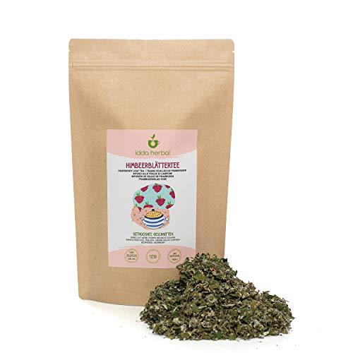 Té de hojas de frambuesa (125g), hojas de frambuesa suavemente secas, té de hojas de frambuesa 100% natural
